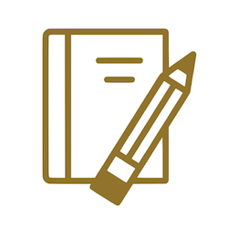Student Discount Icon - gold